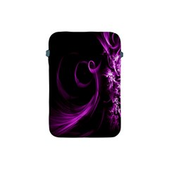 Purple Flower Floral Apple Ipad Mini Protective Soft Cases by Mariart
