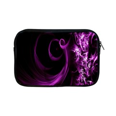 Purple Flower Floral Apple Ipad Mini Zipper Cases by Mariart