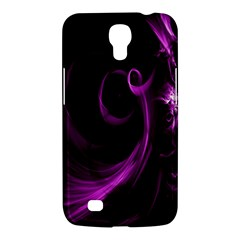 Purple Flower Floral Samsung Galaxy Mega 6 3  I9200 Hardshell Case by Mariart