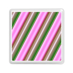 Pink And Green Abstract Pattern Background Memory Card Reader (square)  by Nexatart