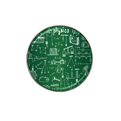 Scientific Formulas Board Green Hat Clip Ball Marker (10 Pack) by Mariart