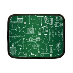Scientific Formulas Board Green Netbook Case (small)  by Mariart