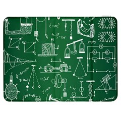 Scientific Formulas Board Green Samsung Galaxy Tab 7  P1000 Flip Case by Mariart