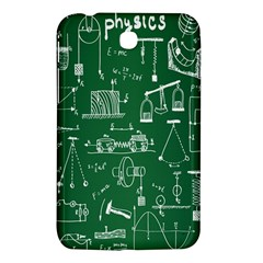 Scientific Formulas Board Green Samsung Galaxy Tab 3 (7 ) P3200 Hardshell Case  by Mariart