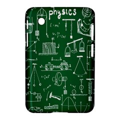 Scientific Formulas Board Green Samsung Galaxy Tab 2 (7 ) P3100 Hardshell Case  by Mariart