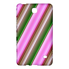 Pink And Green Abstract Pattern Background Samsung Galaxy Tab 4 (7 ) Hardshell Case  by Nexatart