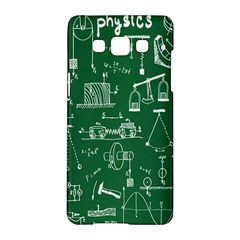 Scientific Formulas Board Green Samsung Galaxy A5 Hardshell Case  by Mariart