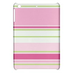 Turquoise Blue Damask Line Green Pink Red White Apple Ipad Mini Hardshell Case by Mariart