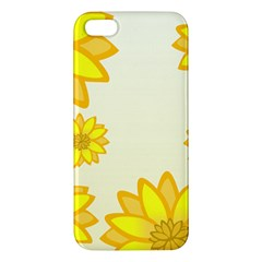 Sunflowers Flower Floral Yellow Iphone 5s/ Se Premium Hardshell Case by Mariart