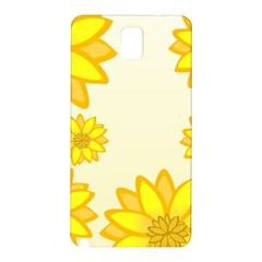 Sunflowers Flower Floral Yellow Samsung Galaxy Note 3 N9005 Hardshell Back Case by Mariart