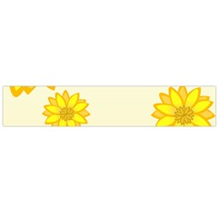 Sunflowers Flower Floral Yellow Flano Scarf (large) by Mariart