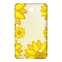 Sunflowers Flower Floral Yellow Samsung Galaxy Tab 4 (7 ) Hardshell Case  by Mariart