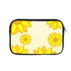 Sunflowers Flower Floral Yellow Apple Macbook Pro 13  Zipper Case by Mariart
