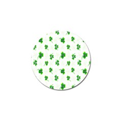 Leaf Green White Golf Ball Marker (10 Pack) by Mariart