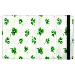 Leaf Green White Apple Ipad 2 Flip Case by Mariart