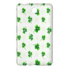 Leaf Green White Samsung Galaxy Tab 4 (8 ) Hardshell Case  by Mariart