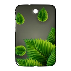 Leaf Green Grey Samsung Galaxy Note 8 0 N5100 Hardshell Case  by Mariart