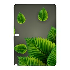 Leaf Green Grey Samsung Galaxy Tab Pro 10 1 Hardshell Case by Mariart