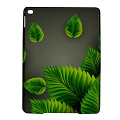Leaf Green Grey Ipad Air 2 Hardshell Cases by Mariart