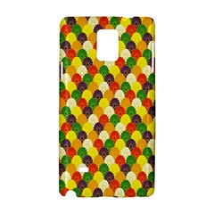 Flower Floral Sunflower Color Rainbow Yellow Purple Red Green Samsung Galaxy Note 4 Hardshell Case by Mariart