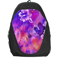 Littie Birdie Abstract Design Artwork Backpack Bag by Nexatart