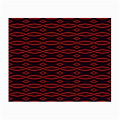 Repeated Tapestry Pattern Abstract Repetition Small Glasses Cloth