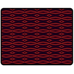 Repeated Tapestry Pattern Abstract Repetition Fleece Blanket (medium)  by Nexatart