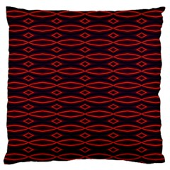 Repeated Tapestry Pattern Abstract Repetition Large Cushion Case (two Sides) by Nexatart