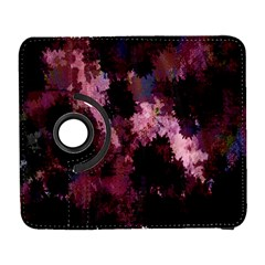 Grunge Purple Abstract Texture Galaxy S3 (flip/folio) by Nexatart