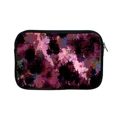Grunge Purple Abstract Texture Apple Ipad Mini Zipper Cases by Nexatart