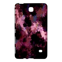 Grunge Purple Abstract Texture Samsung Galaxy Tab 4 (7 ) Hardshell Case  by Nexatart