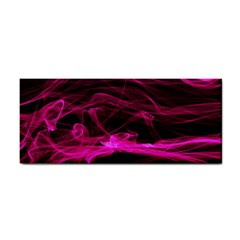 Abstract Pink Smoke On A Black Background Cosmetic Storage Cases