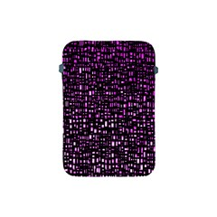 Purple Denim Background Pattern Apple Ipad Mini Protective Soft Cases by Nexatart