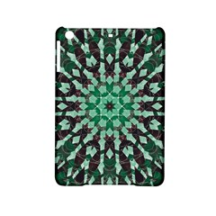 Abstract Green Patterned Wallpaper Background Ipad Mini 2 Hardshell Cases by Nexatart