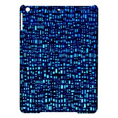 Blue Box Background Pattern Ipad Air Hardshell Cases by Nexatart