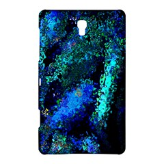 Underwater Abstract Seamless Pattern Of Blues And Elongated Shapes Samsung Galaxy Tab S (8 4 ) Hardshell Case  by Nexatart
