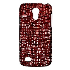 Red Box Background Pattern Galaxy S4 Mini by Nexatart