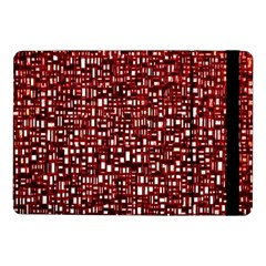 Red Box Background Pattern Samsung Galaxy Tab Pro 10 1  Flip Case by Nexatart
