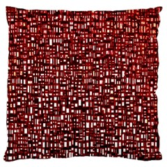 Red Box Background Pattern Large Flano Cushion Case (two Sides) by Nexatart