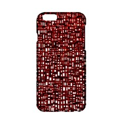 Red Box Background Pattern Apple Iphone 6/6s Hardshell Case by Nexatart
