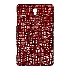 Red Box Background Pattern Samsung Galaxy Tab S (8 4 ) Hardshell Case