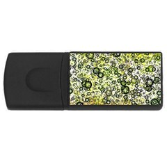 Chaos Background Other Abstract And Chaotic Patterns Usb Flash Drive Rectangular (4 Gb) by Nexatart
