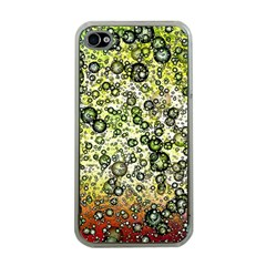 Chaos Background Other Abstract And Chaotic Patterns Apple Iphone 4 Case (clear)