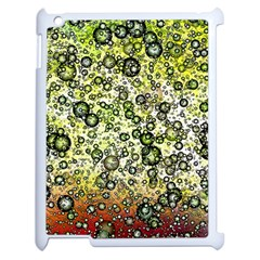 Chaos Background Other Abstract And Chaotic Patterns Apple Ipad 2 Case (white) by Nexatart