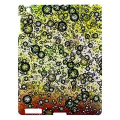 Chaos Background Other Abstract And Chaotic Patterns Apple Ipad 3/4 Hardshell Case by Nexatart