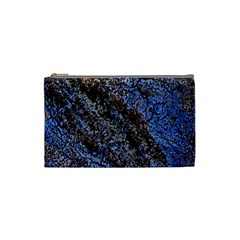 Cracked Mud And Sand Abstract Cosmetic Bag (small)  by Nexatart