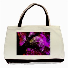 Pink Abstract Tree Basic Tote Bag (two Sides) by Nexatart
