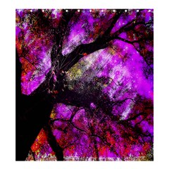 Pink Abstract Tree Shower Curtain 66  X 72  (large)  by Nexatart