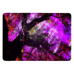 Pink Abstract Tree Samsung Galaxy Tab 8 9  P7300 Flip Case by Nexatart