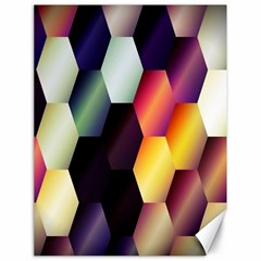 Colorful Hexagon Pattern Canvas 18  X 24   by Nexatart